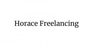 Horace Freelancing