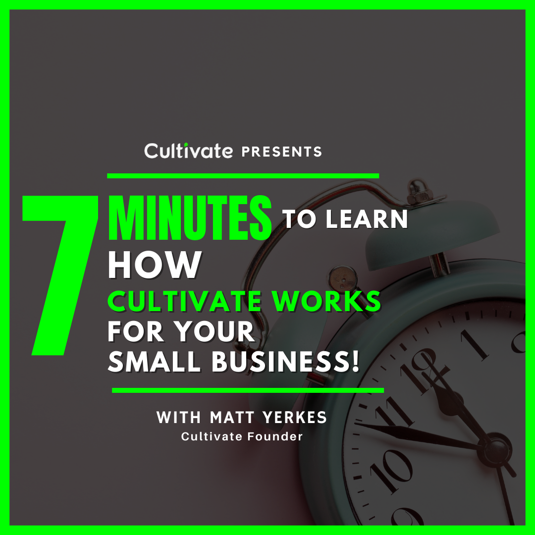 7 Minutes To Learn How Cultivate Works